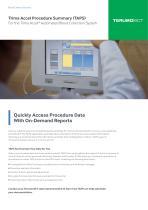 Trima Accel Procedure Summary (TAPS)