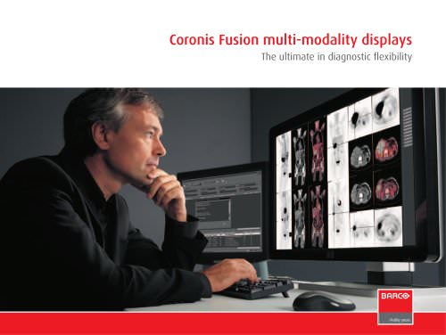 Coronis Fusion multi-modality displays