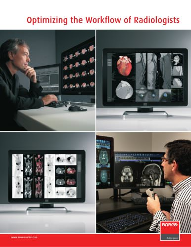 Optimizing the Workflow of Radiologists