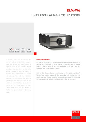 Projectors RLMW6