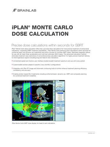 iPlan Monte Carlo