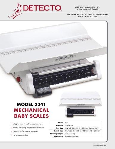 2341 Pediatric Scale Bulletin