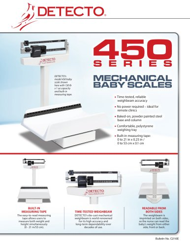 450 Series, Weigh Beam