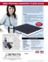 6800 Bariatric Scale Bulletin - 2