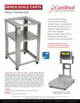 BENCH SCALE CARTS - 1