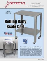 Rolling Baby Scale Cart - 1