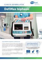 DefiMax biphasic clinical defibrillator