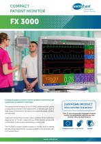 FX 3000 compact patient monitor