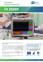 FX 3000P new portable patient monitor