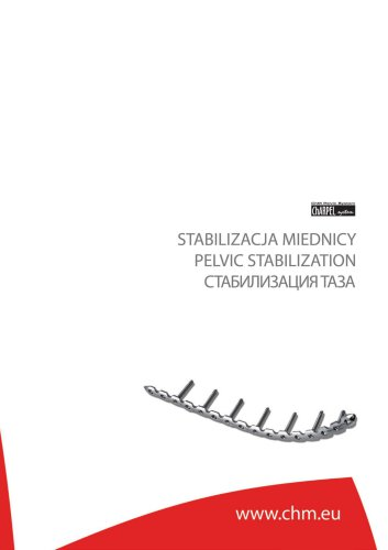 PELVIC STABILIZATION