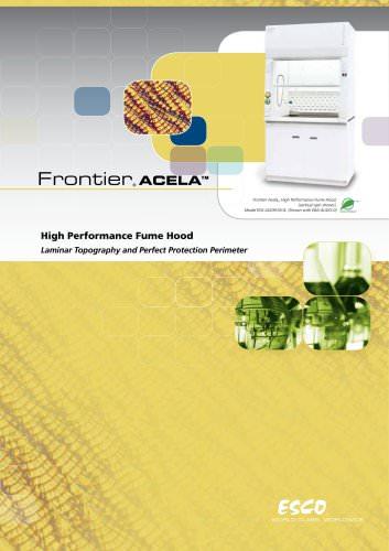 High Performance Fume Hood Frontier® Acela EFA