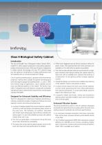 Infinity® Class II Microbiological Safety Cabinets (Australia)