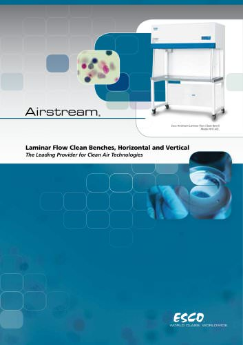 Laminar Flow Clean Benches, Horizontal and Vertical Airstream® AHC AVC