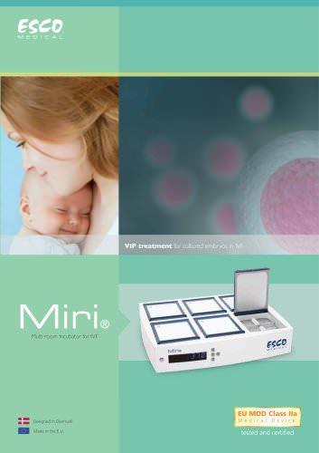 Miri® Multi-room Incubator