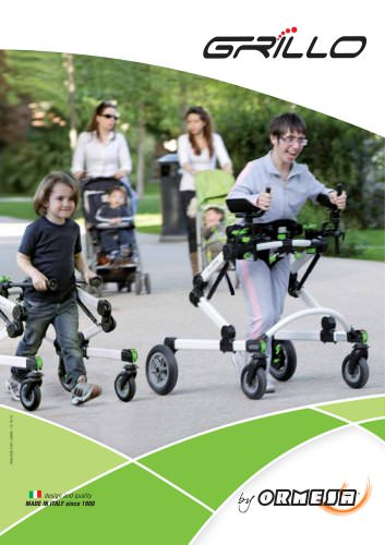 GRILLO FRONT AND POSTERIOR GAIT TRAINER