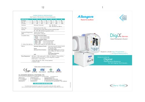 DIGIX-ADV-CSA-CS-U MARS 15-80KW FIXED X-RAY