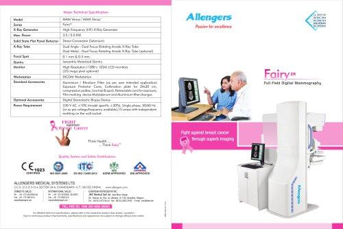 FAIRY DR VENUS MAM-VENUS 3.5-5KW DIGITAL MAMMOGRAPHY