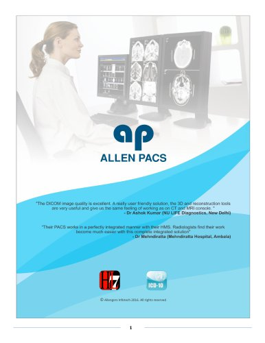 Picture Archiving and Communications Systems (PACS)