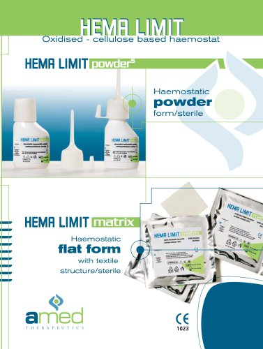 HEMA LIMIT powders