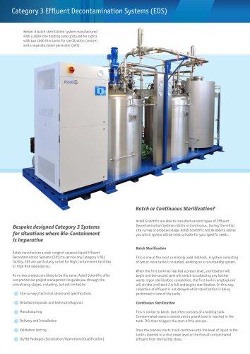 Effluent Decontamination System Brochure