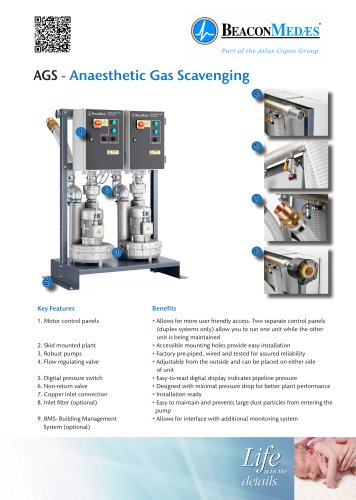 Anaesthetic Gas Scavenging Systems HTM/ISO Brochure