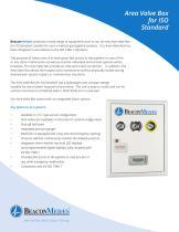 Area Valve Box HTM/ISO Brochure - 1