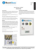 Area Valve Box HTM/ISO Specification Sheet - 1