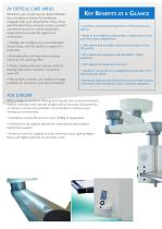 Articulated Arm Ceiling Pendant Systems HTM/ISO Brochure - 2