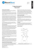 Emergency Reserve Manifold HTM/ISO Specification Sheet - 1