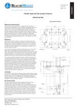 Flexible, Rigid and Retractable Pendants HTM/ISO Specification Sheet - 1