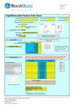 Flexible, Rigid and Retractable Pendants HTM/ISO Specification Sheet - 3