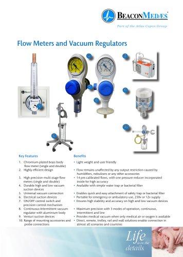 Flow Meters and Vacuum Regulators HTM/ISO Brochure