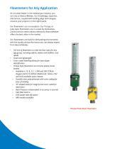 Flowmeters and Suction Regulators - 2
