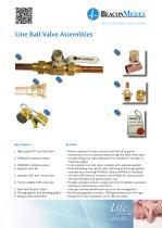Line Ball Valve Assemblies HTM/ISO Brochure - 1