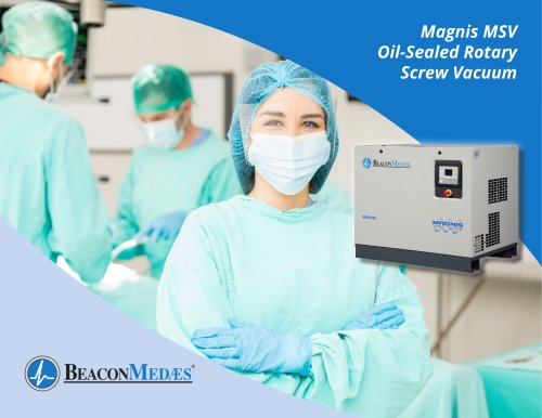 Magnis MSV Oil-Sealed Rotary Screw Vacuum