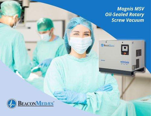 Magnis MSV Oil-Sealed Rotary Screw Vacuum