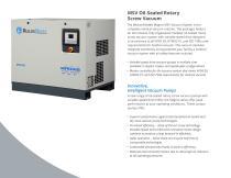 Magnis MSV Oil-Sealed Rotary Screw Vacuum - 2