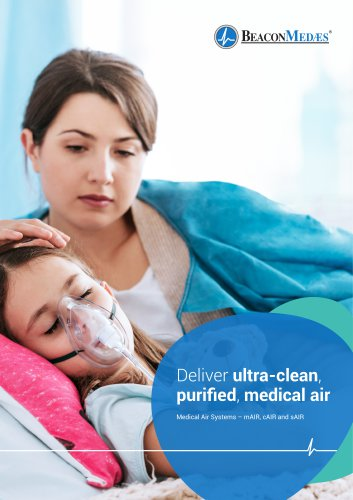 Medical Air Systems mAIR, cAIR and sAIR HTM/ISO brochure