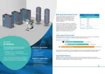 Medical Air Systems mAIR, cAIR and sAIR HTM/ISO brochure - 2