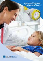 Medical Gas Terminal Units Gem Shield HTM/ISO Brochure - 1