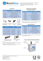 Medical Terminal Unit Gem Shield BS 5682 HTM/ISO Specification Sheet - 6