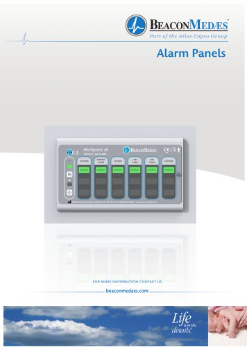 Medipoint Alarm Panels HTM/ISO Brochure