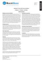 Medizone™ Area Valve Service Module (International) HTM/ISO Specification Sheet - 1