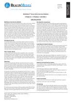 Medizone™ Area Valve Service Module (UK only) HTM/ISO Specification Sheet - 1