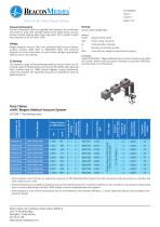 mVAC Magnis Medical Vacuum HTM/ISO Specification Sheet - 2