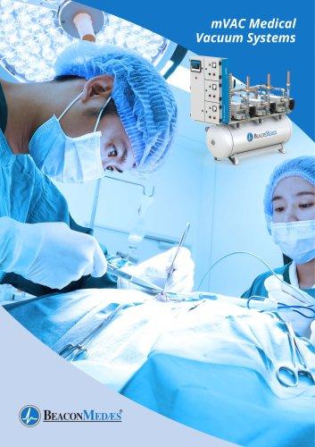 mVAC Medical Vacuum Systems Brochure HTM/ISO