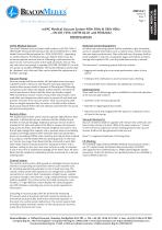 mVAC Medical Vacuum Systems HTM/ISO Specification Sheet - 1