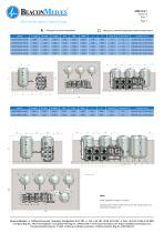 mVAC Medical Vacuum Systems HTM/ISO Specification Sheet - 3