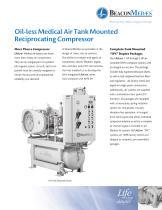 Oil-less Medical Air Reciprocating Compressors - 1
