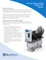 Oil-less Reciprocating Medical Air System - 1